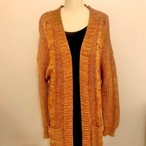 Dreamy Duster in Cable Knit a design